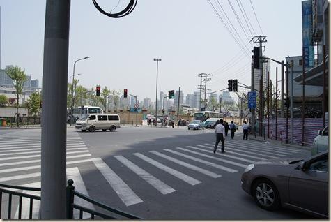 China Kreuzung